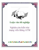 Tài liệu Luận văn tốt nghiệp: Nghiên cứu kiến trúc mạng viến thông ATM pdf
