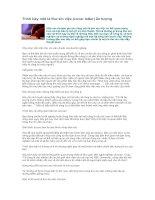 Tài liệu Trình bày một lá thư xin việc (cover letter) ấn tượng pptx