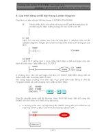 Tài liệu Hướng dẫn tự học PLC CPM1 qua hình ảnh - Chương 4: Lập trình bằng sơ đồ bậc thang doc