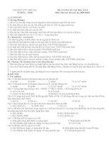 Tài liệu ĐỀ CƯƠNG ÔN TẬP HỌC KÌ II Môn: Hóa học 10 (năm học 2009-2010) doc