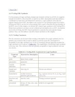 Tài liệu Logic Synthesis With Verilog HDL part 2 doc