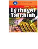 Giáo trình lý thuyết tài chính