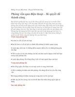 Tài liệu Phỏng vấn qua điện thoại – Bí quyết để thành công ppt