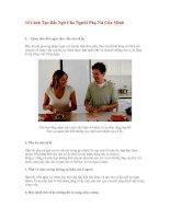 Tài liệu 10 Cách Tạo Bất Ngờ Cho Người Phụ Nữ Của Mình pdf
