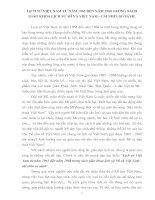 Tài liệu Lịch sử việt nam từ năm 1965 đến năm 1968 trong sách giáo khoa lịch sử mĩ và việt nam doc