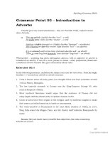 Tài liệu Building grammar skills for TOEFL IBT part 14 ppt