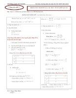 Bài soạn on thi tn toan 12 chuong 1