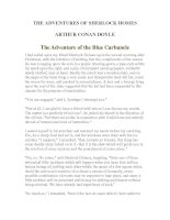 Tài liệu LUYỆN ĐỌC TIẾNG ANH QUA TÁC PHẨM VĂN HỌC-THE ADVENTURES OF SHERLOCK HOMES -ARTHUR CONAN DOYLE 7-1 pptx