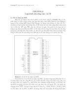 Tài liệu Lập trình 8051 : Lập trình cho cổng vào - ra I/O doc