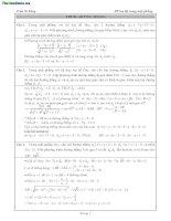 Tổng hợp 200 bài tập phương pháp tọa độ trong mặt phẳng