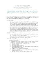 Tài liệu Miễn tiền thuê đất, thuê mặt nước (dưới đây gọi chung là tiền thuê đất) trong thời gian xây dựng theo dự án được cấp có thẩm quyền phê duyệt đối với tổ chức kinh tế... pdf