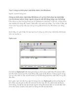 Tài liệu Top 5 công cụ khôi phục mật khẩu dành cho Windows docx