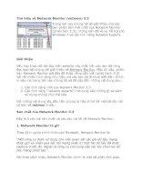 Tài liệu Tìm hiểu về Network Monitor (netmon) 3.3 ppt