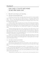 Tài liệu TOÁN ỨNG DỤNG- CHƯƠNG 3 GIỚI THIỆU LÍ THUYẾT MÔ PHỎNG VÀ MÔ HÌNH HÀNG CHỜ pptx