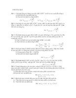 Tài liệu Ôn tập học kỳ 1 hình học không gian pptx