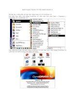 Tài liệu Định dạng trang vẽ với CorelDraw 10 ppt
