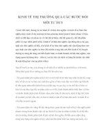 Tài liệu KINH TẾ THỊ TRƯỜNG QUA CÁC BƯỚC ĐỔI MỚI TƯ DUY pptx