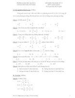Tài liệu Bộ đề kiểm tra học kỳ toán lớp 6 đề 1 pptx