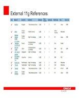 Tài liệu Oracle Workshop - Upgrade to 11g P2 pdf