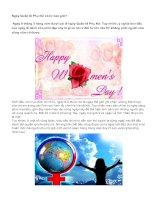 Ngày Quốc tế Phụ Nữ có từ bao giờ?