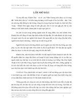 Báo cáo Thực tập tốt nghiệp: Du Lịch Khánh Hòa - Tiềm Năng Và Phát Triển