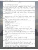 Tài liệu Truyện ngắn tiếng Anh: Freckles pptx