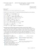 Tài liệu Đề Thi Tiếng Nga 549 Khối D năm 2007 pptx
