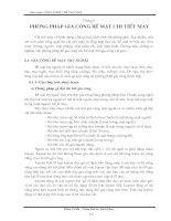 Tài liệu Giáo trình công nghệ chế tạo máy bay chương 6-1 pdf