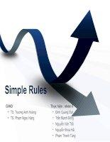 Chủ đề tìm hiểu managing agile projects  QUẢN lý dự án PHẦN mềm