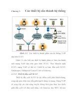 Tài liệu PHƯƠNG PHÁP ĐÁNH GIÁ CHẤT LƯỢNG DỊCH VỤ THOẠI TRONG MẠNG VoIP, chương 3 doc