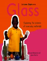 Science Explorers Materials - Glass