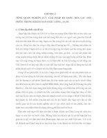 TỔNG QUAN NGHIÊN CỨU GIẢI PHÁP ĐA DẠNG HÓA CÁC SẢN PHẨM  TRONG KHÁCH SẠN CHÂU LONG , SA PA