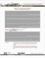 Tài liệu Lesson 15: A presentation (part 2) doc