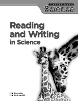 Reading and writing in science V2