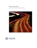 Tài liệu KRONE - White Paper - Open the Pipe for Broadband service doc