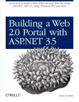 Tài liệu Building a Web 2.0 portal with ASP .NET 3.5 pdf
