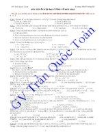 Tài liệu 134 bài tập đại cương kim loại docx