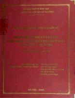 Những nội dung cơ bản của luật cạnh tranh việt nam năm 2004 và đề xuất áp dụng  đề tài nghiên cứu khoa học cấp bộ