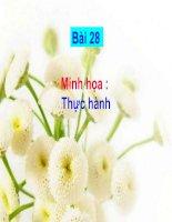 Tài liệu Minh hoa Bai 28 - Thuc hanh - Phan tich bieu do nhiet do va luong mua