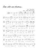 Tài liệu Bài hát sợi nhớ sợi thương - Phan Huỳnh Điểu (lời bài hát có nốt) pdf
