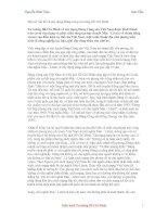 Tài liệu Một số vấn đề về xây dựng Đảng trong tư tưởng Hồ Chí Minh doc