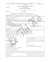 Bài soạn GIAO AN _ LOP - 2 TUAN 21