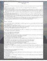 Tài liệu Truyện ngắn tiếng Anh: GHOST OF GEENNY CASTLE - John Escott ppt