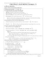 Tài liệu Lý thuyết và bài tập vật lý 12-CB