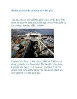 Tài liệu Khám phá tàu du lịch lớn nhất thế giới pdf