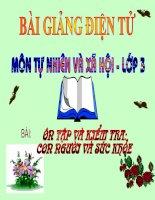 Tài liệu BÀI 17,18_ÔN TẬP CON NGƯỜI VÀ SỨC KHỎE