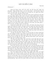 Bài soạn HÃY ĐI ĐẾN CÙNG