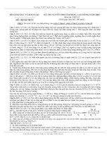 Bài soạn ĐỀ THI ĐẠI HỌC-CAO ĐẲNG 2003-1010