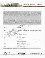 Tài liệu Bài 19: Lễ Rước Đèn - ấn định điểm hẹn; kể chuyện Transcript Quỳnh Liên và docx