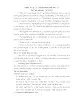 PHÂN TÍCH TÀI CHÍNH CHO NHÀ ĐẦU TƯ CHỨNG KHOÁN CÁ NHÂN